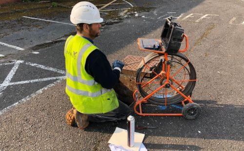 CCTV Drain Survey Cumbria