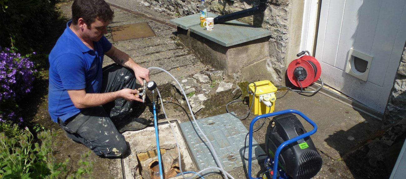 No dig drain patch repairs from Enviroguard for those hard to reach places. - In certain situations drain repairs can be completed without been unearthed, reducing cost and inconvenience.