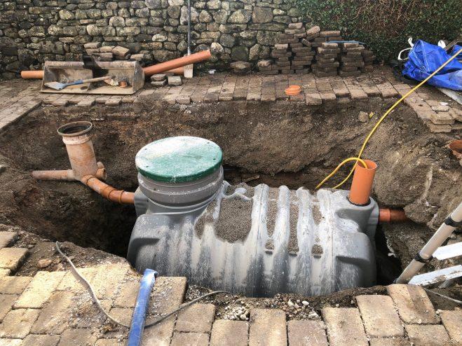 enviroguard septic tank survey kendal