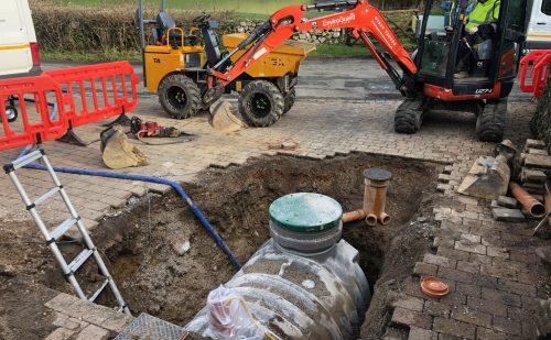 Enviroguard septic tank upgrade