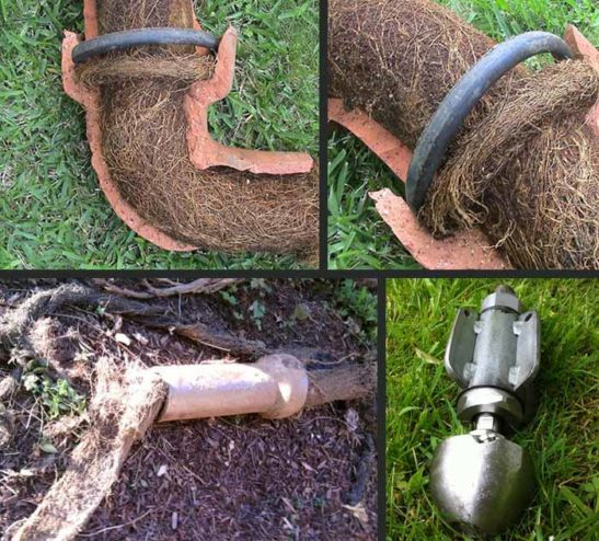 drain jetting root removal cumbria